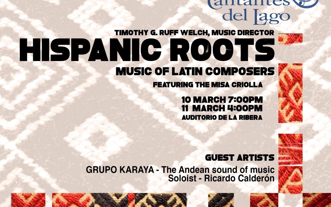 Hispanic Roots show poster